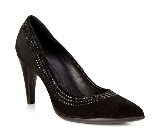 ECCO Shape 75 Embellished Pump (BLACK)