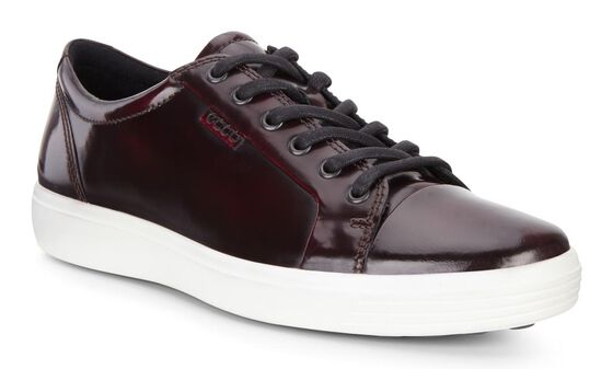 SOFT7 Mens Brushed Sneaker (BORDEAUX)