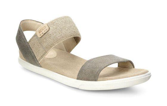 ECCO Damara Ankle Sandal (WARM GREY)