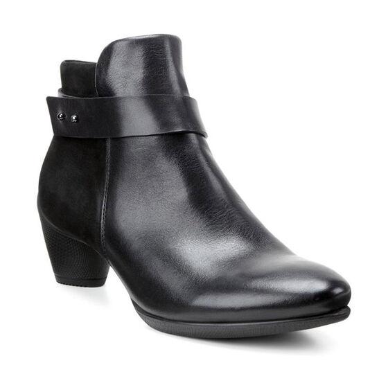 ECCO Sculptured 45 Ankle Boot (BLACK/BLACK)
