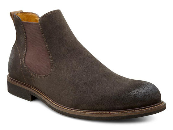 ECCO Findlay Boot (LICORICE/WALNUT)