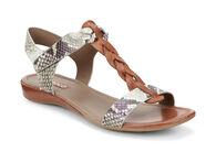 ECCO Bouillon Knot Sandal II (COGNAC/SAGE)