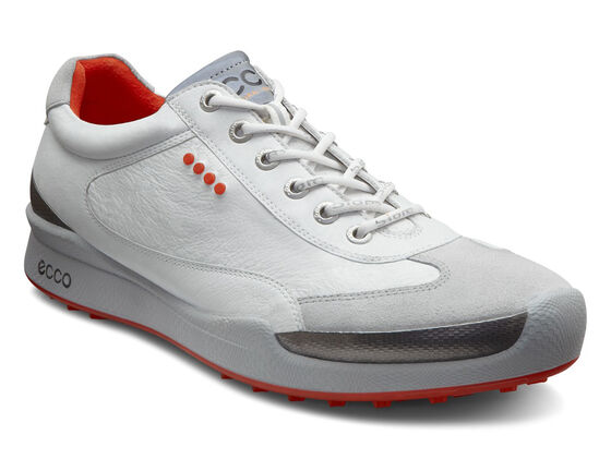 ECCO Mens BIOM Hybrid Lace (WHITE/FIRE)