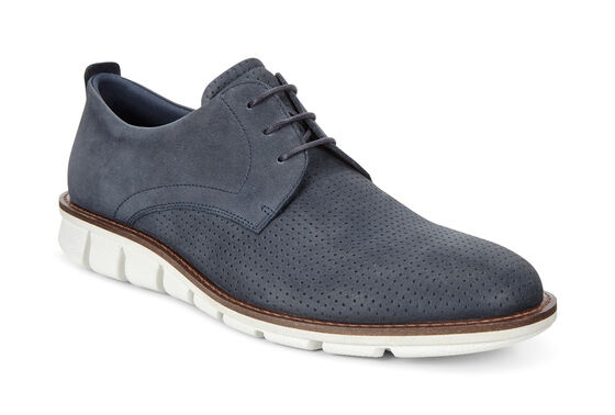 ECCO Jeremy Perforated Tie (NAVY)