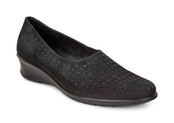 ECCO Felicia Summer Slip On (BLACK)
