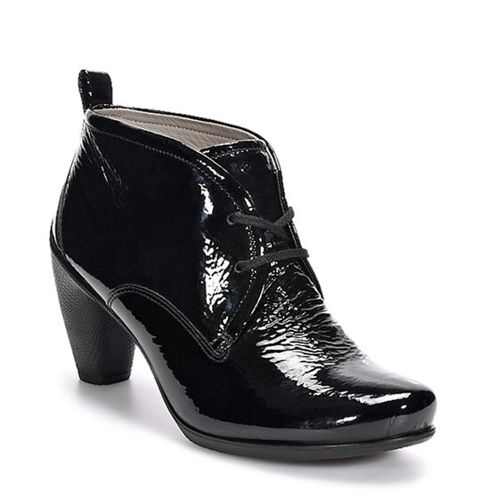 ECCO Sculptured 65 Lace Bootie (BLACK)