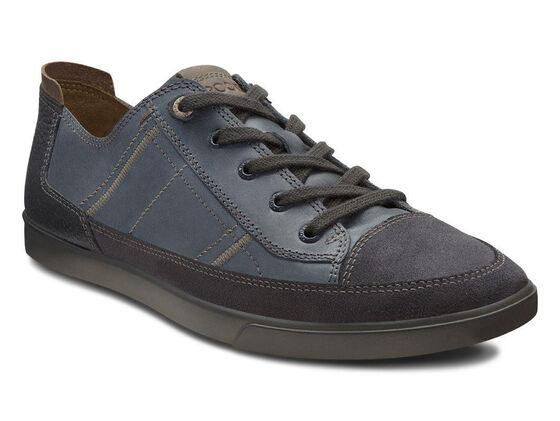 ECCO Collin Cap Toe Sneaker (MOONLESS/MARINE/MOONLESS)