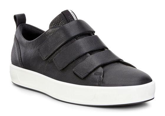 ECCO Mens Soft 8 (BLACK)
