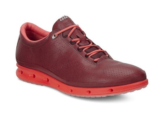 ECCO Womens Cool GTX (PORT/CORAL BLUSH)