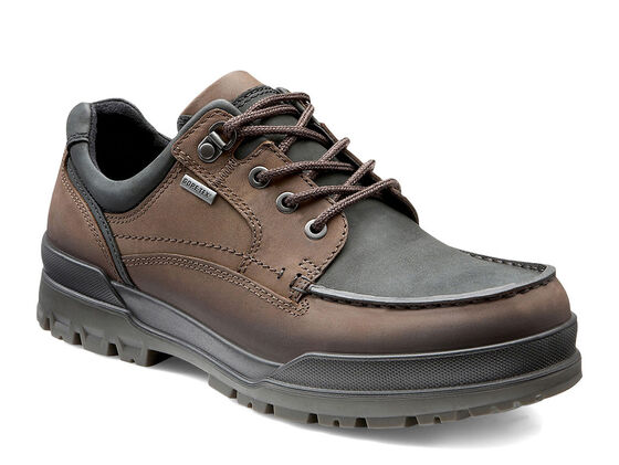 ECCO Track 6 GTX Moc Toe Lo (COFFEE/BLACK)