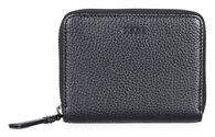 ECCO SP 2 Medium Zip Wallet (BLACK)
