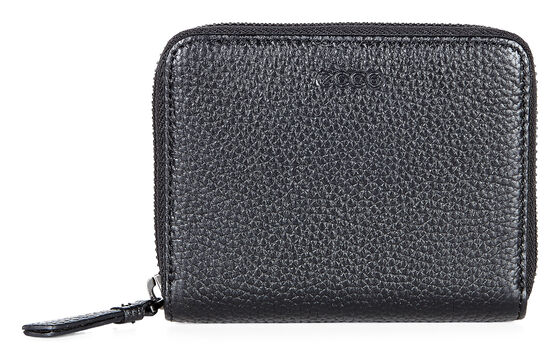 ECCO SP 2 Medium Zip Wallet (BLACK)