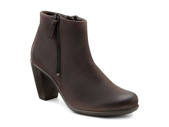 ECCO Touch 75 Ankle Bootie (MOCHA)