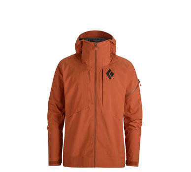 Mission Ski Shell, Rust, large