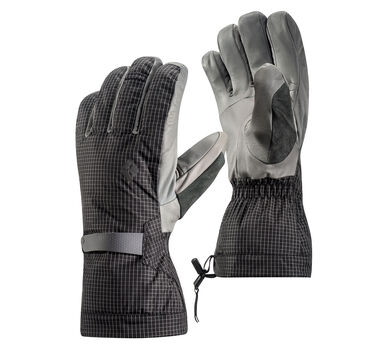 Helio Three-In-One Gloves, Ash, large