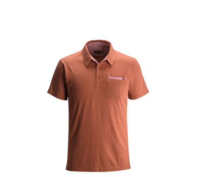 Attitude Polo Shirt, Rust, large
