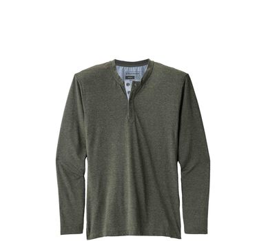 Long-Sleeve Attitude Henley
