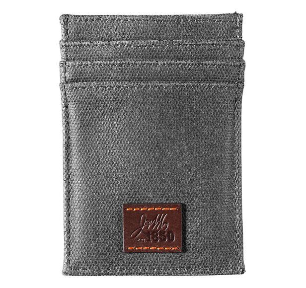 Est. 1850 Canvas Front Pocket Wallet