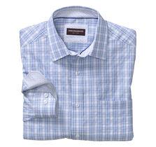 Raised Wide Check Shirt