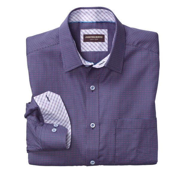 Basketweave Neat Shirt