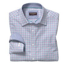 Tri-Color Houndstooth Shirt