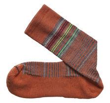 Wool-Blend Mini-Stripe Socks