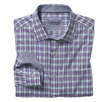 Shadow Slub Plaid Shirt