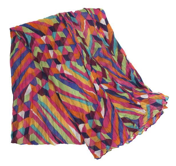 Multicolor Geometric Scarf