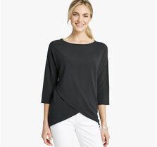 Dolman-Sleeve Knit Top