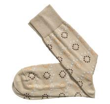 Dotted Circles Socks