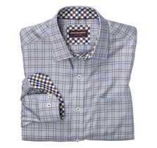 Micro ZigZag Windowpane Shirt