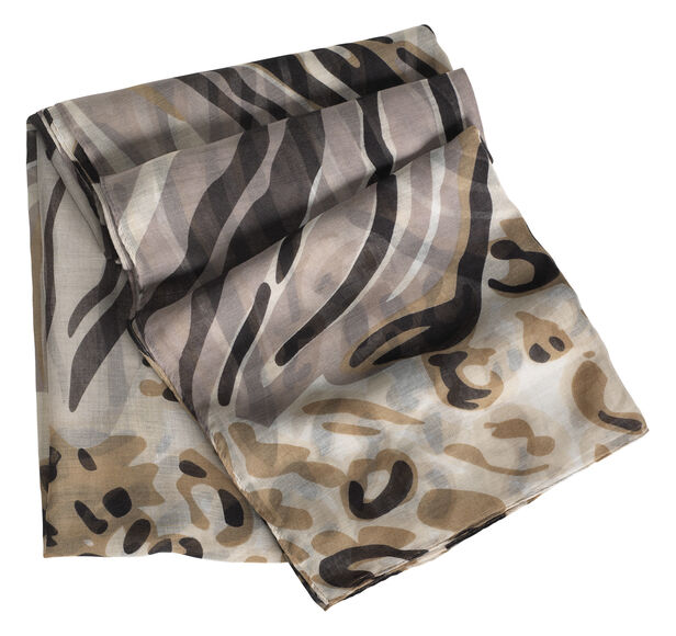 Abstract Animal Print Scarf