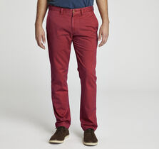 Slim Fit Washed Pima Cotton Chino