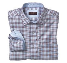 Quad Stripe Windowpane Shirt
