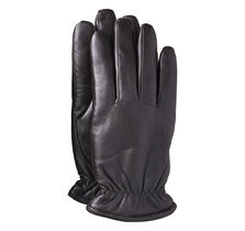 Microfleece-Lined Leather Gloves