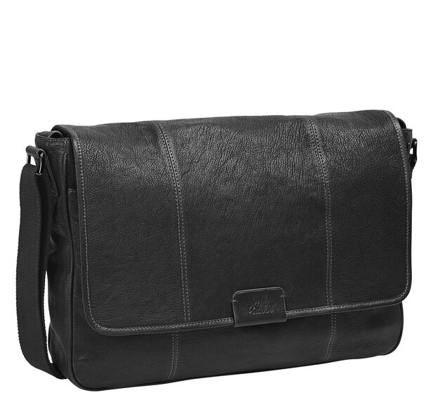 Est. 1850 Leather Messenger Bag