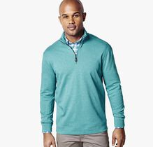 Pima Cotton Quarter-Zip