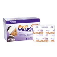 White Mega Wrap Strip Refills