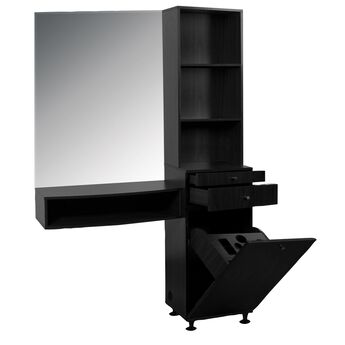Retail Black Tower Styling Station
