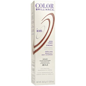 4G Medium Golden Brown Permanent Creme Hair Color
