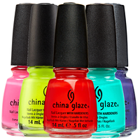 Neon Nail Lacquer with Hardeners