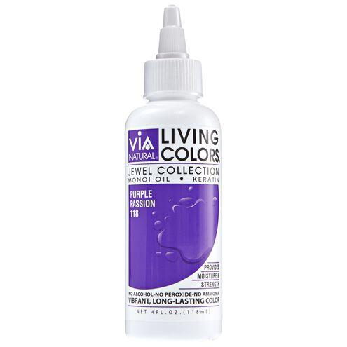 Purple Passion Living Colors Semi Permanent Hair Color