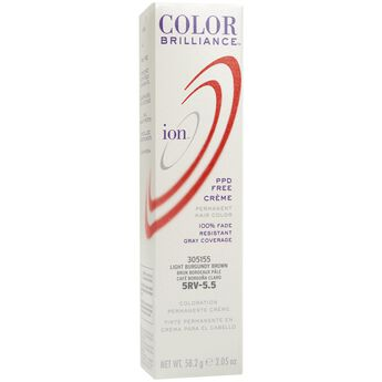 5RV Light Burgundy Brown Permanent Creme Hair Color