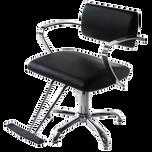 AR-2109-B Veneto Styling Chair with 5 Star Base - Black