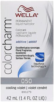 Liquid Permanent Hair Color #050 Cooling Violet