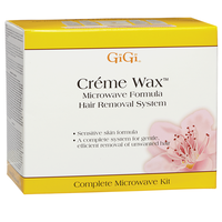 Microwave Creme Wax Hair Removal System