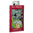 Hipster Hippie Chick Shower Cap