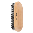 Military Style Reinforced Boar Bristle Brush