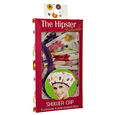 Hipster Flower Power Shower Cap
