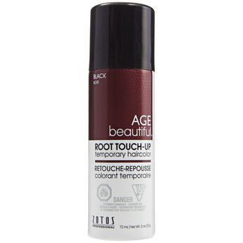 agebeautiful root touch up spray temporary haircolor